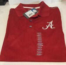 Nwt Alabama Tide Knights Apparel Red/White Rivalry Golf Polo Mens Shirt Medium
