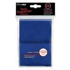 Ultra Pro Blue Card Sleeves 100ct (MTG/Pokemon/Naruto Sized Deck Protectors)