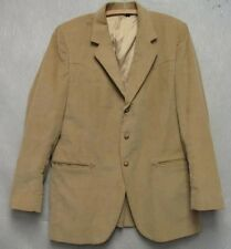 S2229 Colorado High Farah Corduroy Blazer Size 42R 3 Buttons 2 Pockets