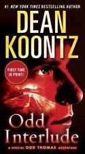 Odd Interlude book 5 of the Thomas series Dean Koontz paperback FREE USA SHIP