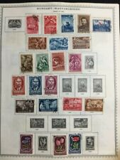 TCStamps -36x- Pages BEAUTIFUL! OLD Hungary Postage Stamps #440
