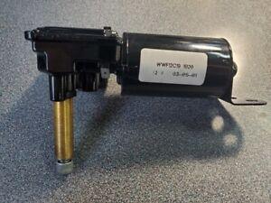 "Universal 12V 1-Speed Wiper Motor WWF12C191020 - 2"" Shaft w/ Built in Switch"