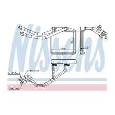 Genuine Nissens Heat Exchanger Interior Heater Matrix - 71163