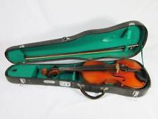 Fino Antiguo Stradivarius Violín + Estuche 1900 Viola Violonchelo Vintage
