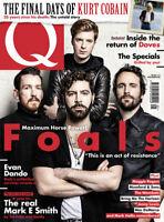 Q magazine 397 Foals Doves Evan Dando mark e Smith Kurt Cobain