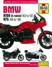 NEW Haynes Manual For BMW K75,K100 1983-1996