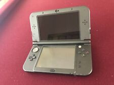 Nintendo 3DS XL MOD RED-001 console and usb charger only - Black