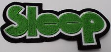 SLEEP   EMBROIDERED PATCH