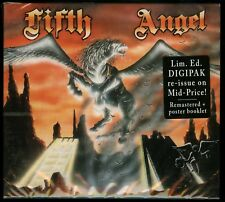 Fifth Angel self titled 1986 CD new s/t same 2018 reissue digipack orig. cover