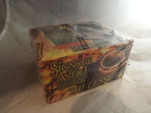 LORD OF THE RINGS TCG ITALIAN REFLECTIONS SEALED BOOSTER BOX OF 24 PACKS
