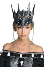 Evil Queen Ravenna Crown Costume Snow White & The Huntsman Gothic Black King