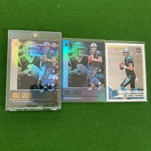 2019 Donruss Optic Rated Rookie Will Grier Sp  RC 🔥 Panthers 🔥 Investment
