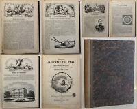Illustrierter Kalender für 1857 Jahrbuch der Wissenschaften, Künste & Gewerbe sf