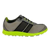 FootJoy FJ Superlites Golf Shoes Grey 58118 Men Size 12 M Spikeless Foot Joy