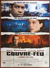 Affiche COUVRE-FEU The Siege DENZEL WASHINGTON Bruce Willis 120x160cm *D