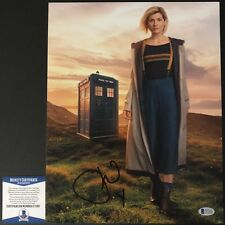 Jodie Whitaker Signed 11x14 Doctor Who Thirteenth Beckett BAS