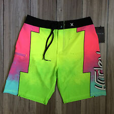 Hurley Phantom Lostwinds Boardshorts Swim Trunks Size 32 Multi Color NWT $60.00