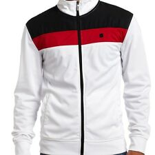 Ecko Color Block Revisited Track Jacket (M) Bleach White EK33583