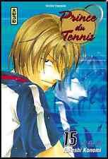 Manga Prince du Tennis tome 15 Shonen Takeshi Konomi Kana Tie Break Rookies VF