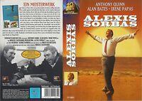(VHS) Alexis Sorbas - Anthony Quinn, Alan Bates, Irene Papas, Lila Kedrova