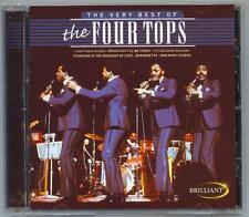 THE VERY BEST OF THE FOUR TOPS - IMPORT - MINT CD