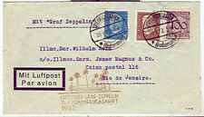 Germany 1932 7th So. American Flight to Rio nice cachet