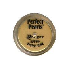 PERFECT GOLD Perfect Pearls Pigment Powder 1oz Jar - Ranger