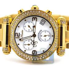 Joe Rodeo Valerie 1.10 ct Diamond Bezel Womens Yellow Gold Watch JVA4