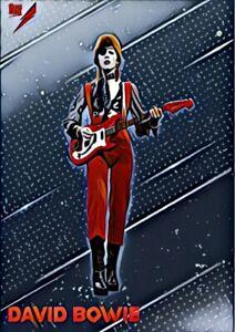 David Bowie Custom Art Trading Card