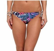 ROXY bas de Bikini Taille L MULTICOLORE BASSE nœud côté NATATION arjx403031