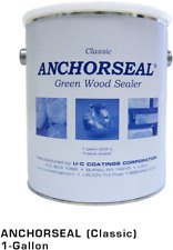 Anchorseal Classic Log & Lumber End Sealer - Water Based Wax Emulsion, Prevents