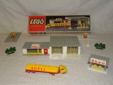 JOUET BOITE LEGO SYSTEM VINTAGE SET BOX 325 STATION SERVICE GARAGE SHELL HO 1/87