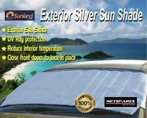 Sunland Exterior Silver Sun Shade UV Ray Protection Sunshade Car 4WD SUV