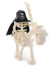 NEW LEGO SKELETON on a SKELETAL HORSE minifig lot headless horseman grim reaper