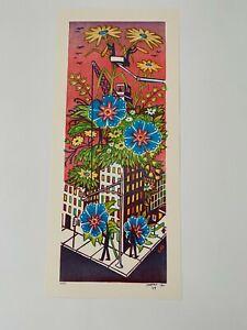 Jim Pollock Spring Construction Print Poster Hampton 09 Phish S/N Beacon