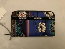 NEW LeSportSac Long Zip Around Wallet