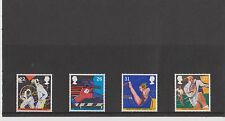 Set 4 GB Great Britain Stamps World Student Games 1991 Mint in folder
