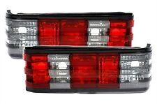2 FEUX ARRIERE ROUGE ET BLANC CRISTAL MERCEDES 190 W201 AZZURRO