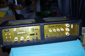 Klemt SET Echolette NG 51 & M80 Tube Amplifier Case & Saver (Without Power Cord)