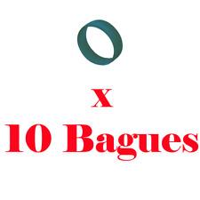 10 Bagues de Répérage Couleur Vert pour Fiche XLR Neutrik Série XX ref XXR1