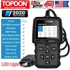 OBD II Scanner Code Reader Topdon AL500 OBD2 Scan Tool Diagnostic SUV Car Truck