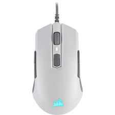 Corsair M55 RGB PRO White Ambidextrous Multi-Grip Gaming Mouse USB WIRED Optical