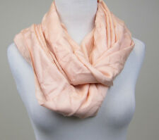 "Coach Signature C Wrap Wool and Silk Blend Scarf - 24"" x 60"" - Blush - NWT"