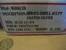 12-24 X 1-1/4 HWH COATED TEK SCREW 4000PCS(AA7096-4000)