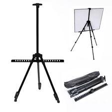 Folding Artist Telescopic Field Studio Painting Easel Tripod Display Stand + Bag