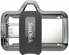 SanDisk USB 256 GB Ultra Dual M3.0 USB3.0 150MB/s Read USB Flash Drive New ct