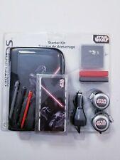 STAR WARS Nintendo DS lite Starter Kit Star Wars Accessories NEW