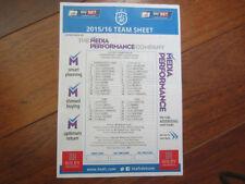 Championship Teams F-K Huddersfield Town Football Programmes