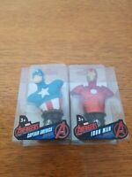 Marvel Avengers Captain America & Iron Man 3-Inch Paper Weight Super-Hero Bust
