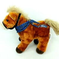 Ford horse plush soft toy doll car